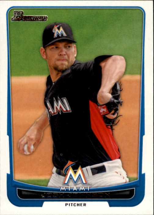2012 Bowman #119 Josh Johnson