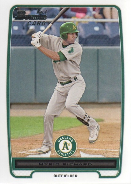 2012 Bowman Prospects #BP2 Myrio Richard