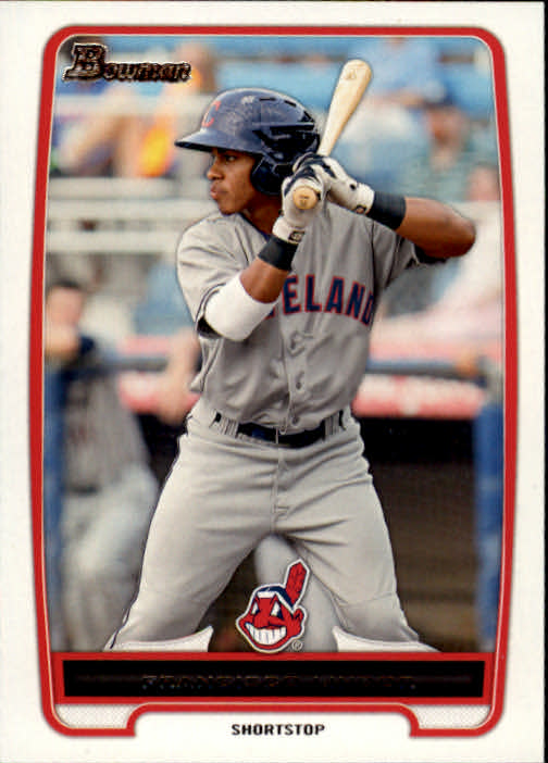 2012 Bowman Prospects #BP3 Francisco Lindor