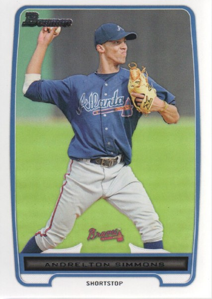 2012 Bowman Prospects #BP109 Andrelton Simmons