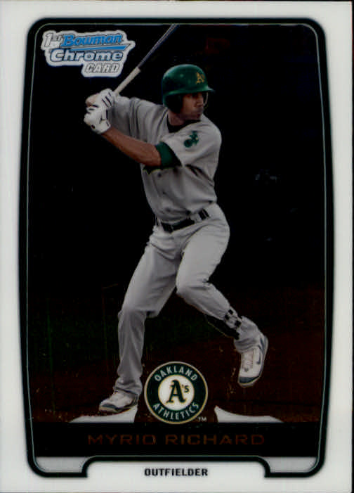 2012 Bowman Chrome Prospects #BCP2 Myrio Richard