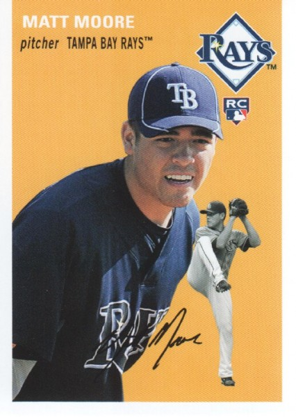 2012 Topps Archives #8 Matt Moore RC
