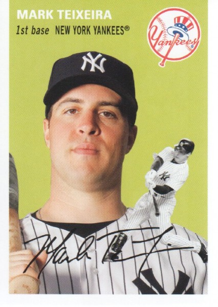 2012 Topps Archives #13 Mark Teixeira