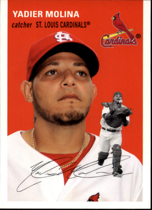 2012 Topps Archives #14 Yadier Molina