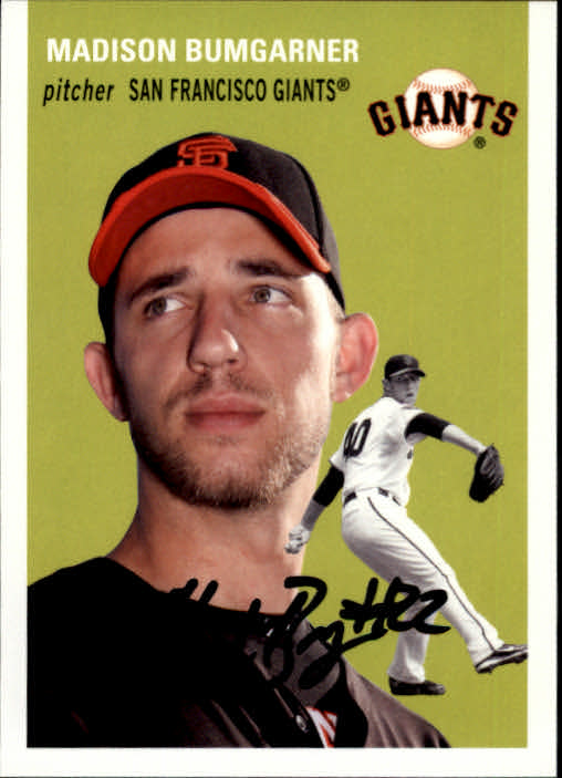 2012 Topps Archives #15 Madison Bumgarner