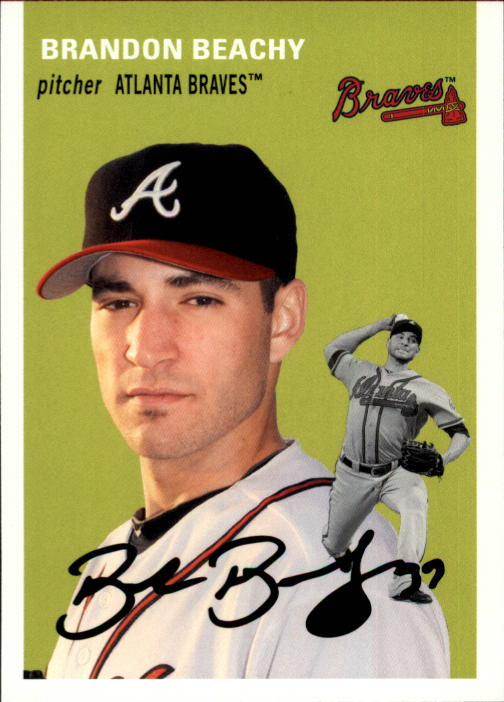 2012 Topps Archives #19 Brandon Beachy