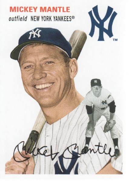 2012 Topps Archives #22 Mickey Mantle