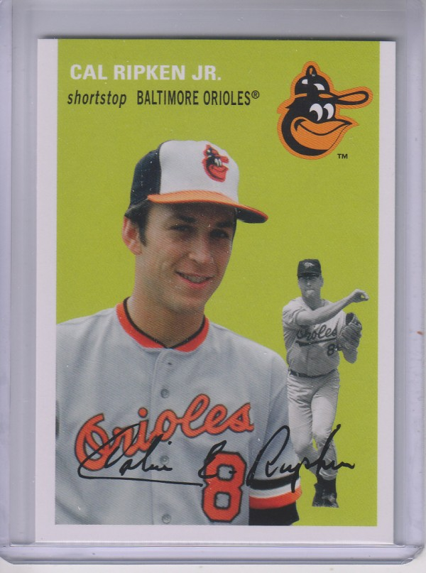 2012 Topps Archives #44 Cal Ripken Jr.