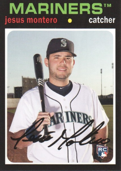 2012 Topps Archives #55 Jesus Montero RC