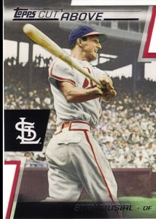 2012 Topps A Cut Above #ACA12 Stan Musial