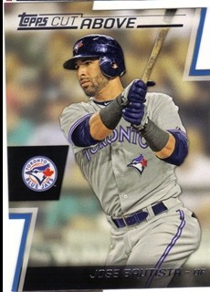 2012 Topps A Cut Above #ACA15 Jose Bautista