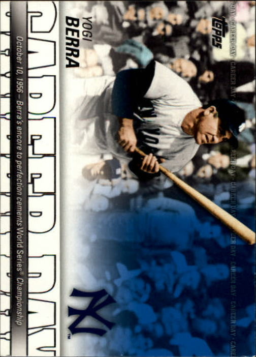 2012 Topps Career Day #CD25 Yogi Berra