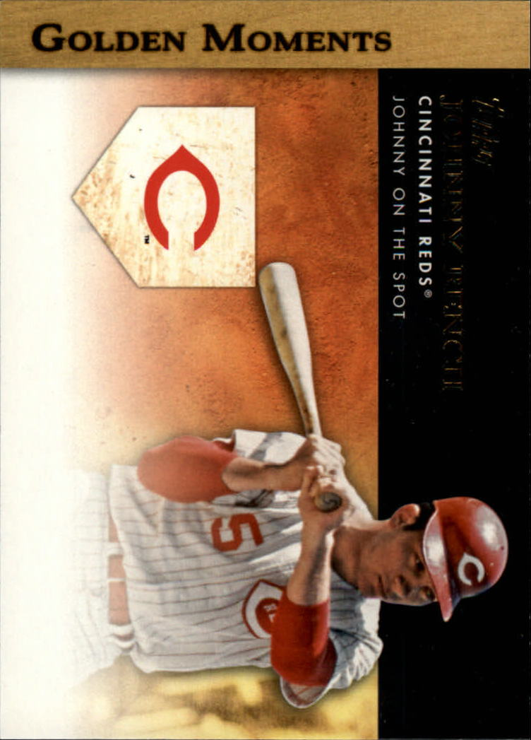 2012 Topps Golden Moments Series 2 #GM5 Johnny Bench