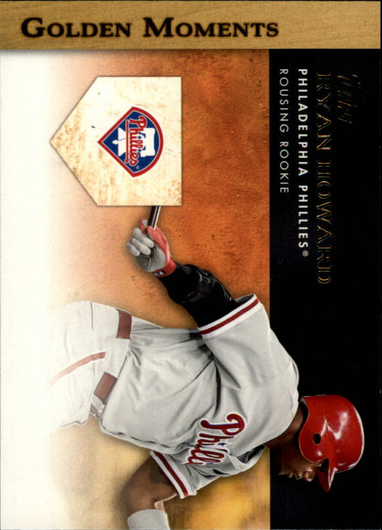 2012 Topps Golden Moments Series 2 #GM9 Ryan Howard