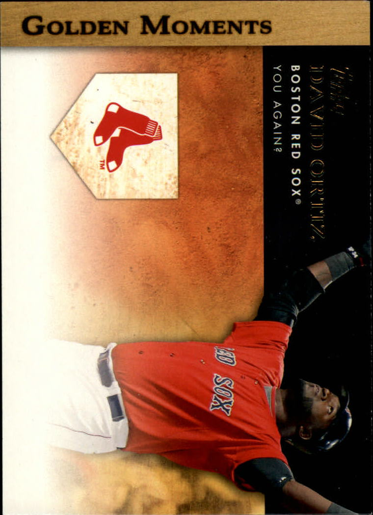 2012 Topps Golden Moments Series 2 #GM21 David Ortiz