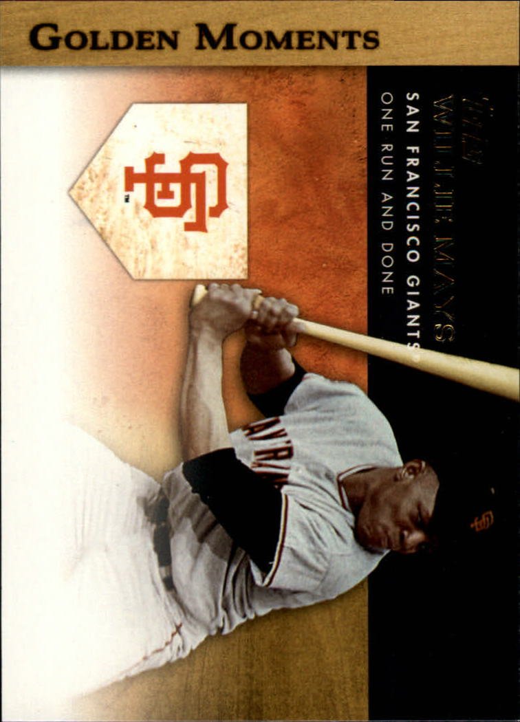 2012 Topps Golden Moments Series 2 #GM39 Willie Mays