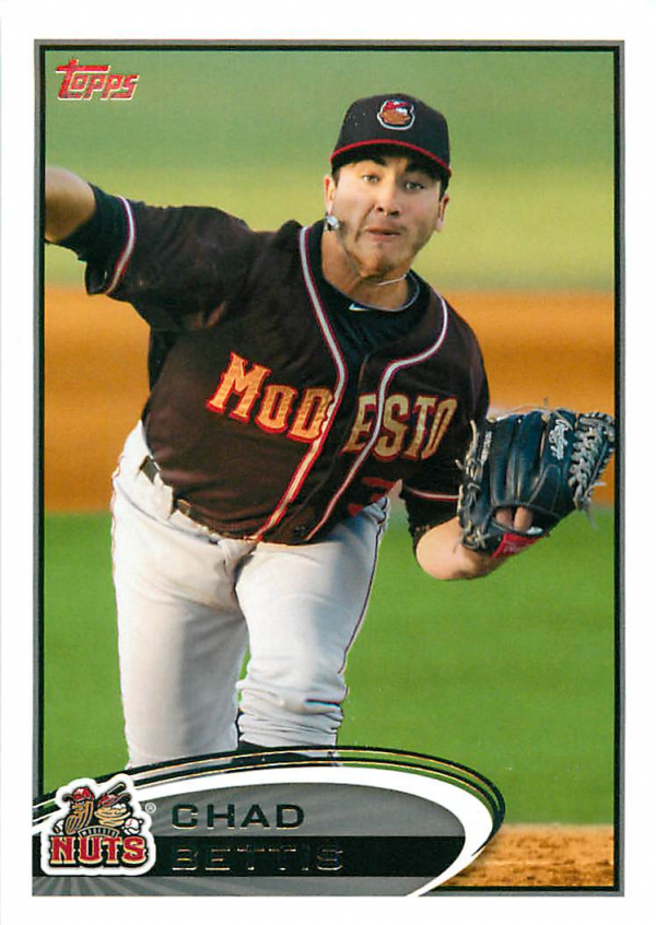 2012 Topps Pro Debut #196 Chad Bettis