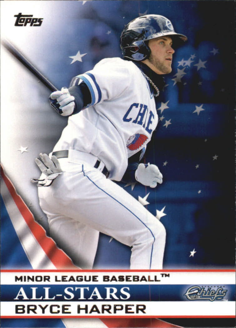 2012 Topps Pro Debut Minor League All-Stars #BH Bryce Harper