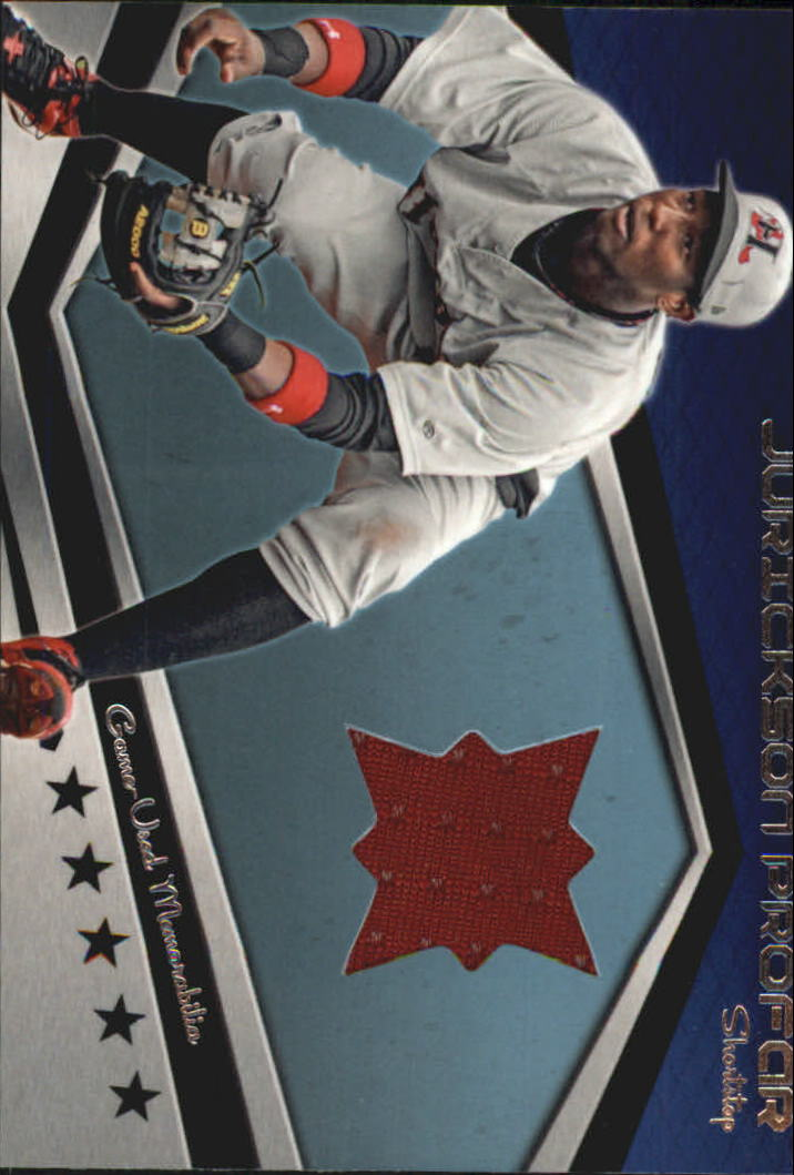 2012 Topps Pro Debut Minor League Materials #JPR Jurickson Profar