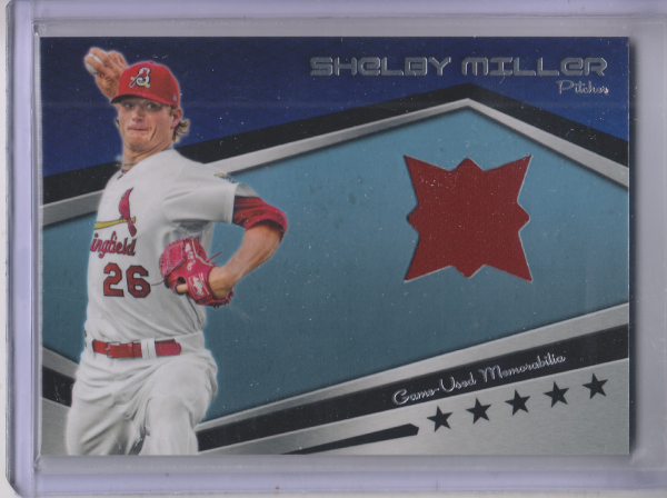 2012 Topps Pro Debut Minor League Materials #SM Shelby Miller