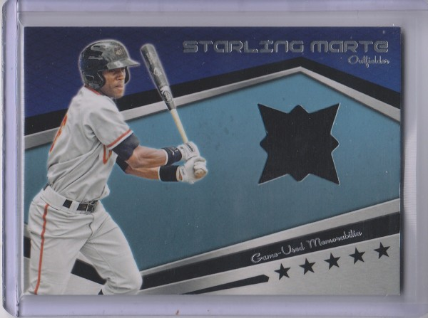 2012 Topps Pro Debut Minor League Materials #SMA Starling Marte