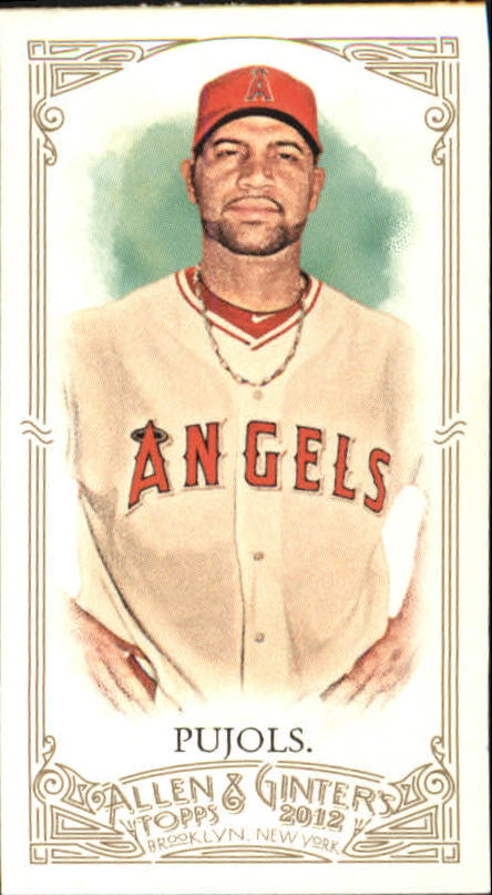 2012 Topps Allen and Ginter #1 Albert Pujols