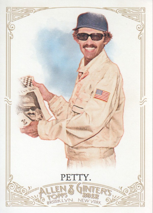 2012 Topps Allen and Ginter #61 Richard Petty