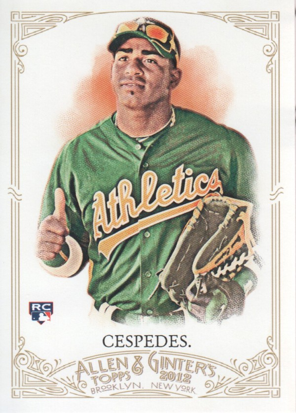 2012 Topps Allen and Ginter #79 Yoenis Cespedes RC