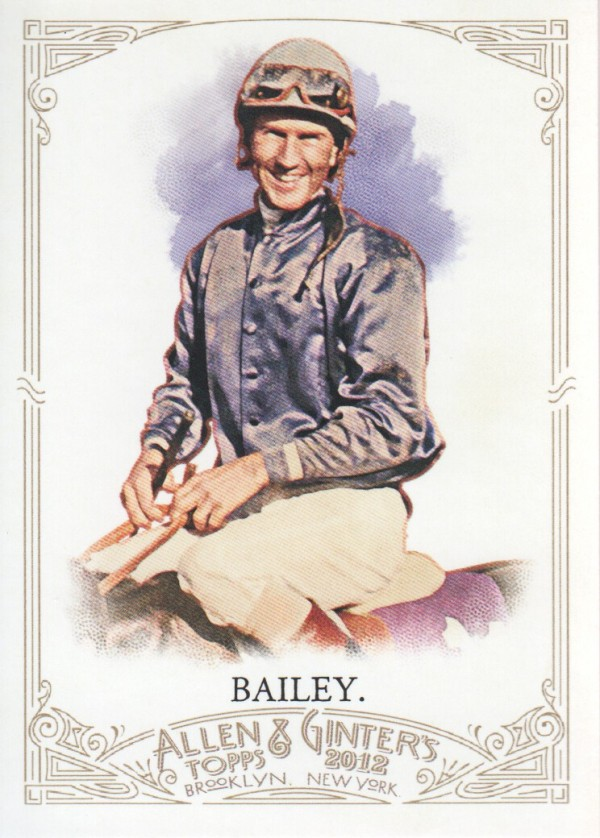 2012 Topps Allen and Ginter #81 Jerry Bailey