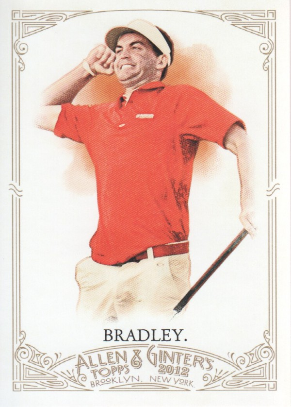 2012 Topps Allen and Ginter #211 Keegan Bradley