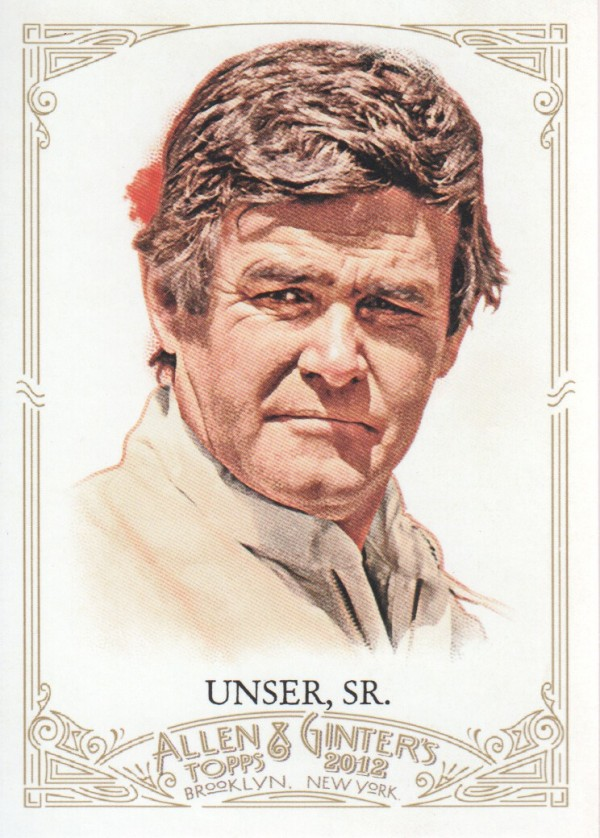 2012 Topps Allen and Ginter #237 Al Unser Sr.