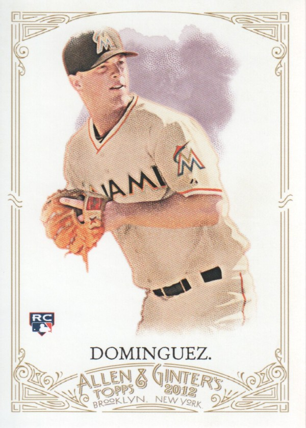 2012 Topps Allen and Ginter #344 Matt Dominguez SP RC