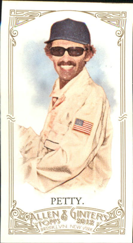 2012 Topps Allen and Ginter Mini #61 Richard Petty