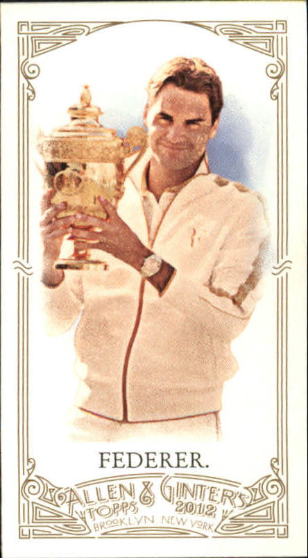 2012 Topps Allen and Ginter Mini #157 Roger Federer