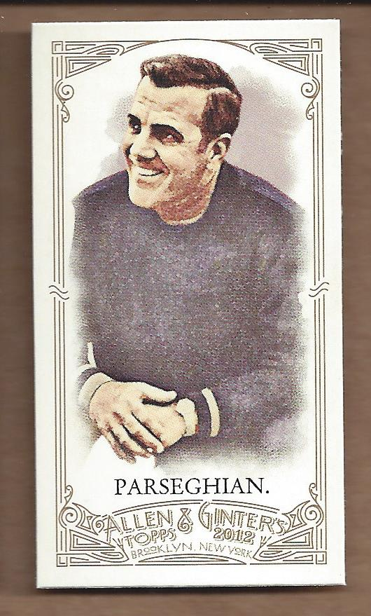 2012 Topps Allen and Ginter Mini #184 Ara Parseghian