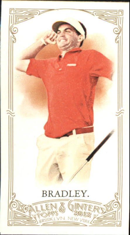 2012 Topps Allen and Ginter Mini #211 Keegan Bradley