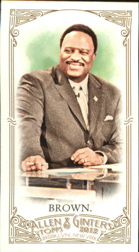 2012 Topps Allen and Ginter Mini #220 James Brown
