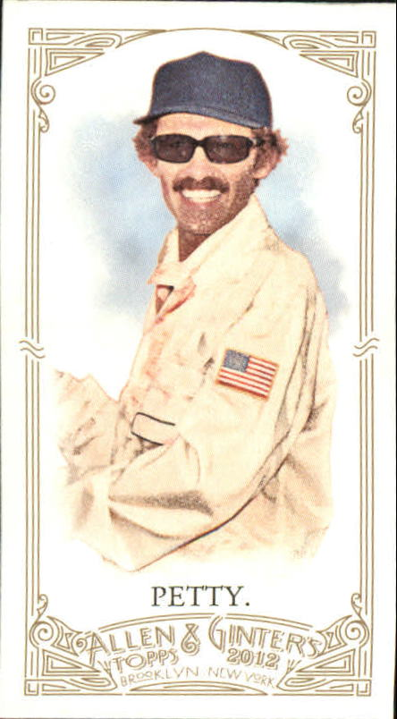 2012 Topps Allen and Ginter Mini A and G Back #61 Richard Petty
