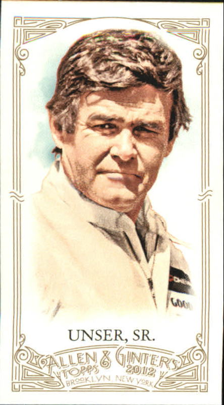 2012 Topps Allen and Ginter Mini A and G Back #237 Al Unser Sr.