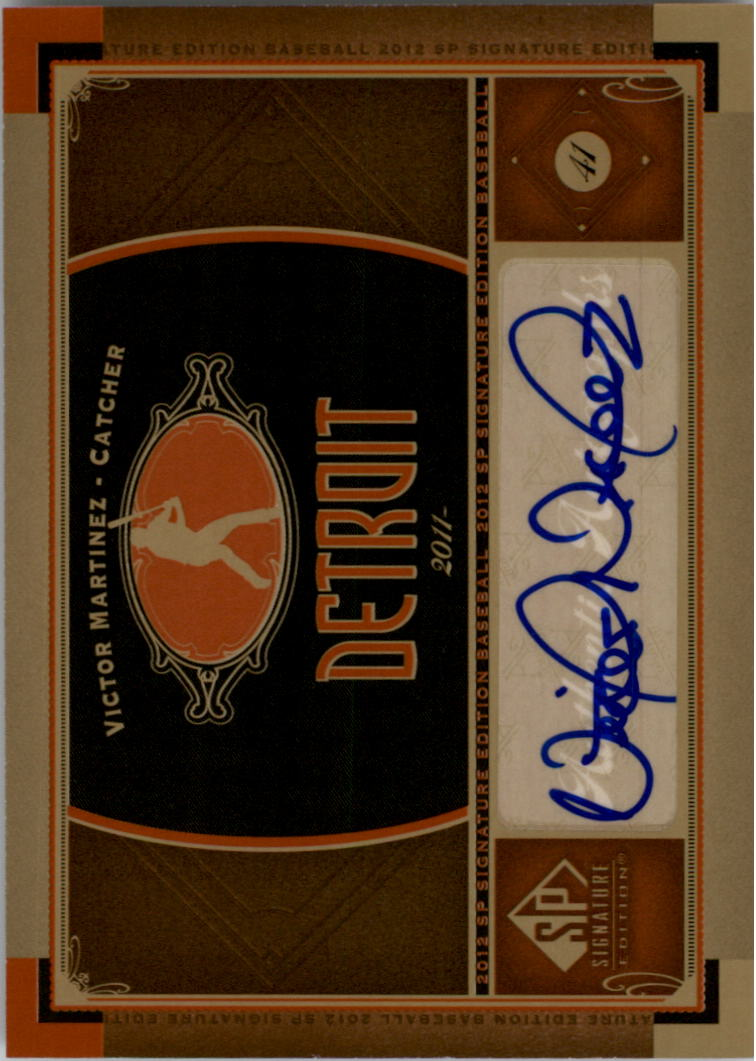2012 SP Signature #NYY14 Russell Martin D
