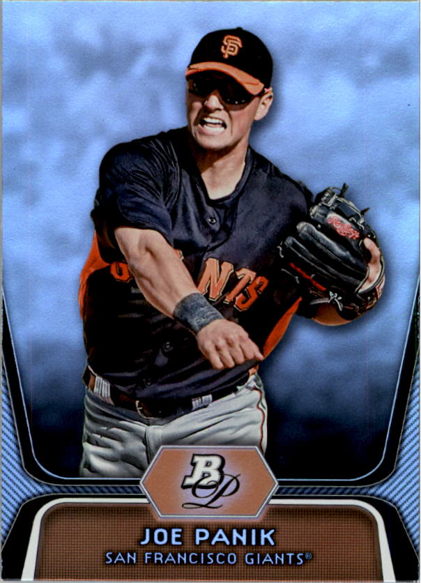 2012 Bowman Platinum Prospects #BPP32 Joe Panik