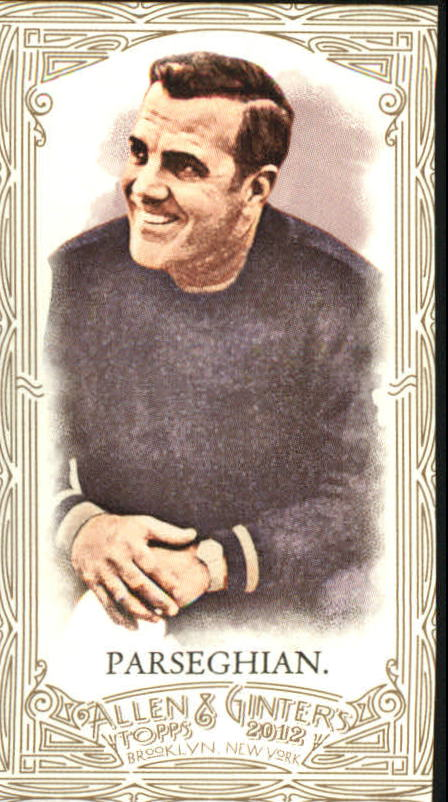 2012 Topps Allen and Ginter Mini Gold Border #184 Ara Parseghian