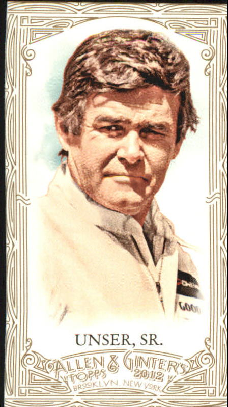 2012 Topps Allen and Ginter Mini Gold Border #237 Al Unser Sr.