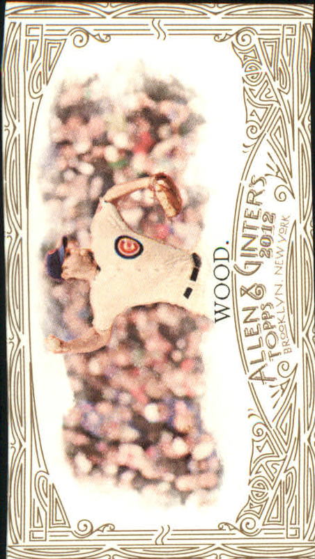 2012 Topps Allen and Ginter Mini Gold Border #275 Kerry Wood