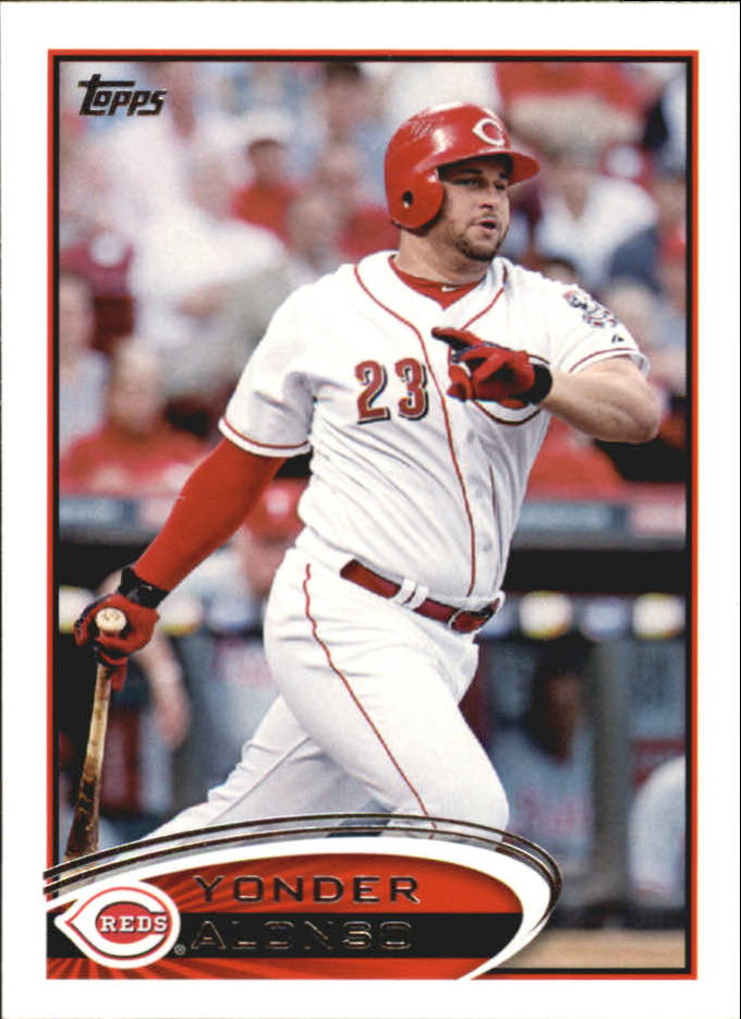 2012 Topps Mini #19 Yonder Alonso