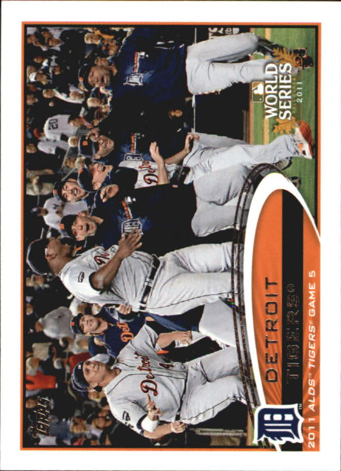 2012 Topps Mini #32 Detroit Tigers PS HL