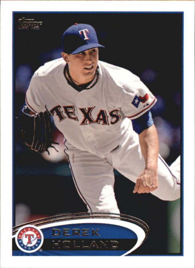 2012 Topps Mini #34 Derek Holland