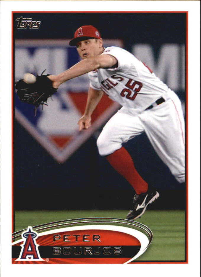 2012 Topps Mini #46 Peter Bourjos