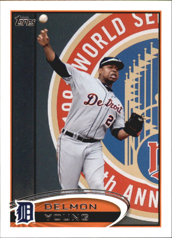 2012 Topps Mini #65 Delmon Young