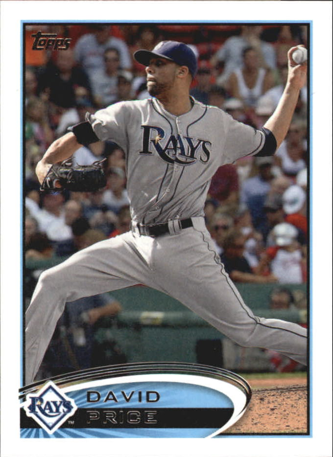 2012 Topps Mini #80 David Price